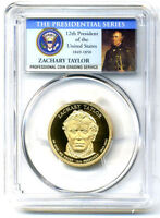PCGS PR69DCAM 2009 S GEM PROOF ZACHARY TAYLOR PRESIDENTIAL DOLLAR COIN4092