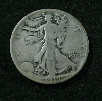 1919 P  -  WALKING LIBERTY HALF   -  G   FULL DATE
