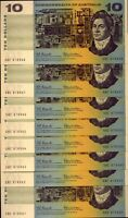 8 X $10 PAPER  NOTES : COOMBS & WILSON  CRISP AND UNC:   NO