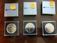 CANADA PROOF DOLLARS LOT OF 8 DIFFERENT IN ORIGINAL CASES AN