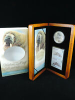 2005 $5 PROOF COIN THE ATLANTIC WALRUS & CALF TWO $1 STAMPS