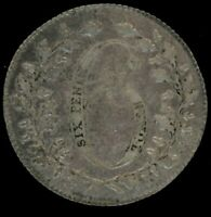 GREAT BRITAIN 6 PENCE SILVER TOKEN C.1800