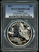 CANADA $20 2017 PCGS PR69DCAM CONSOLIDATED CANSO