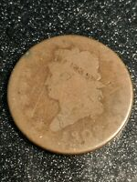 1808 CLASSIC HEAD LARGE CENT 1C RARE SERIES BETTER DATE