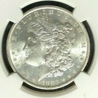 1883-O/O VAM 4 NGC MINT STATE 62 MORGAN SILVER DOLLAR-GENE L HENRY LEGACY COLLECTION