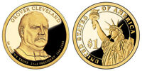 2012 S GEM PROOF GROVER CLEVELAND 1ST Y PRESIDENTIAL DOLLAR UNCIRCULATED COIN PF