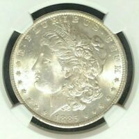 1885-O NGC MINT STATE 64 MORGAN SILVER DOLLAR  GENE L. HENRY GREAT NORTHWEST 05-033