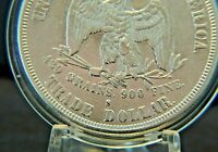 AUTHENTIC PLUS 1878 S SILVER TRADE DOLLAR 27.2 GRAMS