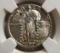 1930 STANDING LIBERTY 25C MINT STATE 64 FH FULL HEAD NGC 3463502-018