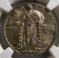 1930 STANDING LIBERTY 25C MINT STATE 64 PLUS  FH FULL HEAD NGC 4444532-003