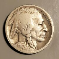 1917-S BUFFALO NICKEL IN GOOD CONDITION AND AT A BARGAIN PRICE