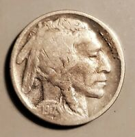 1917-D BUFFALO NICKEL IN GOOD CONDITION - KEY EARLY DATE AT A BARGAIN PRICE