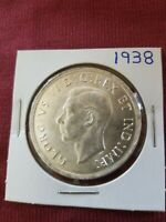 1938 CANADIAN SILVER DOLLAR   RARE DATE   NICE CONDITION