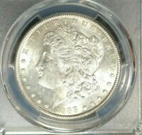 1888-S MORGAN SILVER DOLLAR  PCGS MINT STATE 62 BEAUTIFUL COIN