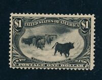 DRBOBSTAMPS US SCOTT 292 MINT HINGED OG SOUND STAMP