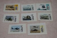 LOT UNUSED CVP APC COMPUTER VENDED POSTAGE STAMPS HELICOPTER