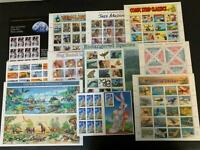 US MNH SHEETS COLLECTION SEE DESCRIPTION FACE $218
