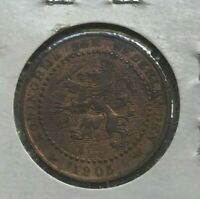 1905 NETHERLANDS 1 ONE CENT   NICE AU
