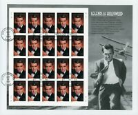 U.S. USED MINISHEET SELECTIONS: SCOTT 3692 LEGENDS OF HOLLYW