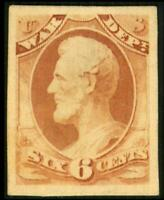 O86P4 PROOF WAR DEPT 6C ABRAHAM LINCOLN ON CARD MH SEE PHOTO