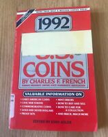 1992 AMERICAN GUIDE TO US COINS BY CHARLES FRENCH