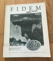 FIDEM 87   INTERNATIONAL FEDERATION OF MEDALLIC ARTS MEETING 1987