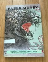 PAPER MONEY 1987 BY VICTOR GADOURY   FIXED PRICE LIST   LISTE A PRIX FIXES