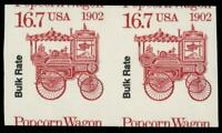 EFO 2261A POPCORN WAGON MISCUT IMPERF PAIR MNH