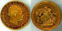 1817  FIRST YEAR OF ISSUE KING GEORGE III GOLD SOVEREIGN
