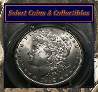 1902-O MORGAN SILVER DOLLAR PCGS MINT STATE 63 BLAST WHITE VAM-11 DOUBLED REVERSE NO-546