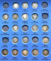 COINS FROM PAGE 2 OF 1892 1916 BARBER DIME FOLDER