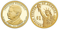 2013 S GEM PROOF THEODORE ROOSEVELT PRESIDENTIAL DOLLAR UNCIRCULATED COIN PF