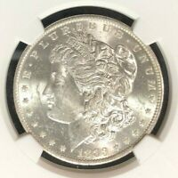 1883-O VAM 36A NGC MINT STATE 62 MORGAN SILVER DOLLARGENE L HENRY LEGACY COLLECTION 011