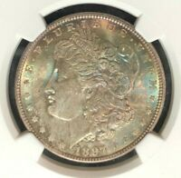 1897 VAM 6A NGC MINT STATE 65 MORGAN SILVER DOLLARGENE L HENRY LEGACY COLLECTION 007