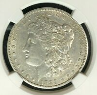 1899-O VAM 6 NGC AU 50 MORGAN SILVER DOLLARGENE L HENRY LEGACY COLLECTION 002