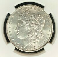 1899-O VAM 31 NGC AU 58 MORGAN SILVER DOLLARGENE L HENRY LEGACY COLLECTION 001