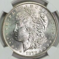 1878 S NGC MINT STATE 63 MORGAN SILVER DOLLAR ITEMT12318