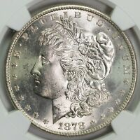 1878 S NGC MINT STATE 64 MORGAN SILVER DOLLAR ITEMT12321
