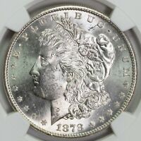 1878 S NGC MINT STATE 63 MORGAN SILVER DOLLAR ITEMT12325