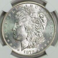 1878 S NGC MINT STATE 64 MORGAN SILVER DOLLAR ITEMT12326