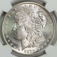 1878 S NGC MINT STATE 63 MORGAN SILVER DOLLAR ITEMT12328