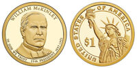 2013 S GEM PROOF WILLIAM MCKINLEY DCAM PRESIDENTIAL DOLLAR UNCIRCULATED COIN PF