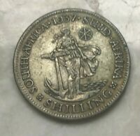 1937 SOUTH AFRICA 1 ONE SHILLING