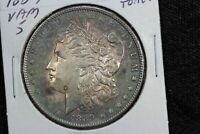 1889 MORGAN DOLLAR VAM-5 OPEN 9 FAR DATE TONED AU 00M20