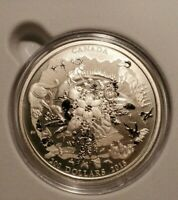ROYAL CANADIAN MINT $200 PURE SILVER COIN 99.99  CANADA'S RU