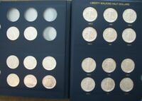 WALKING LIBERTY SILVER HALF SET 1941 1947  20 COINS      CH/