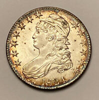 1824 CAPPED BUST HALF DOLLAR .50