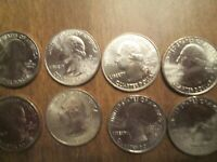 2013 P&D AMERICA THE BEAUTIFUL  PARKS   8 COINS