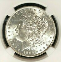 1882-O/O VAM 7 NGC MINT STATE 62 MORGAN SILVER DOLLARGENE L HENRY LEGACY COLLECTION 003