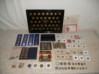 LOT OF VINTAGE COINS SILVER SUSAN B ANTHONY SETS ECT